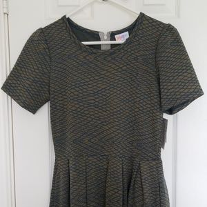 Lularoe Amelia dress nwt M
